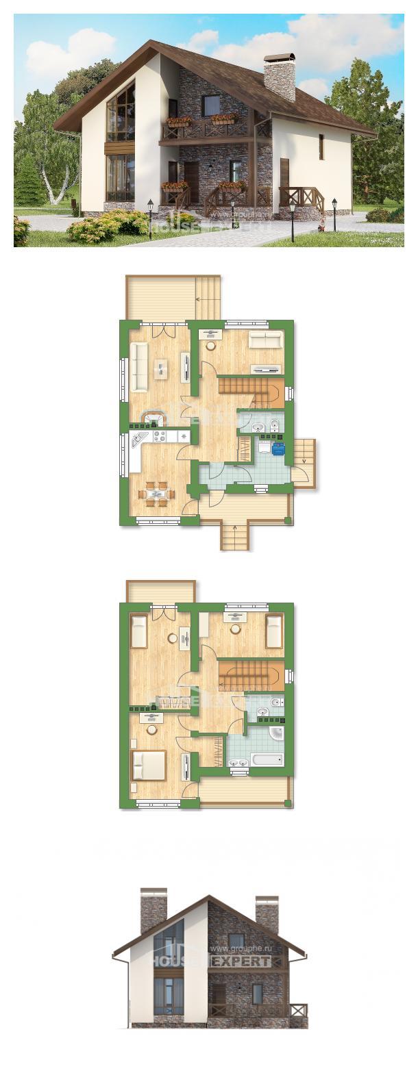 Проект дома 155-001-П | House Expert