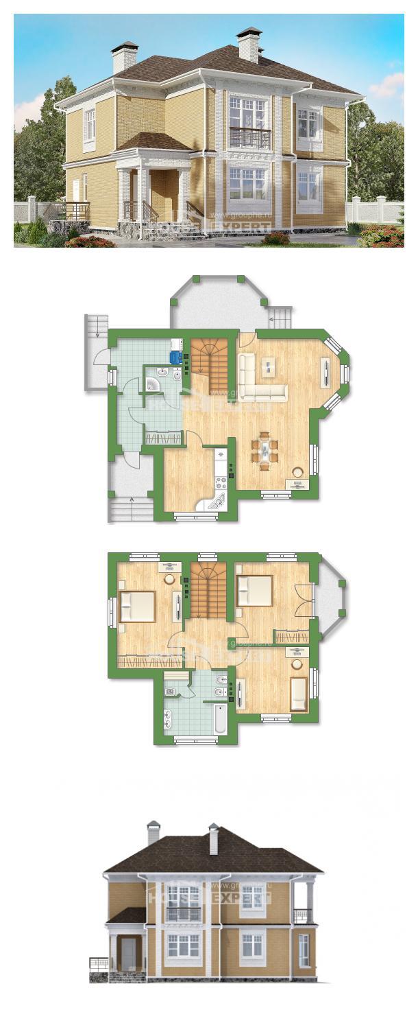 Проект дома 160-001-Л | House Expert