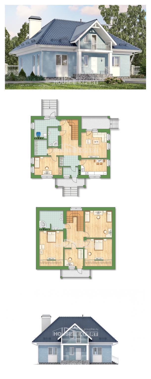 Проект дома 200-002-П | House Expert