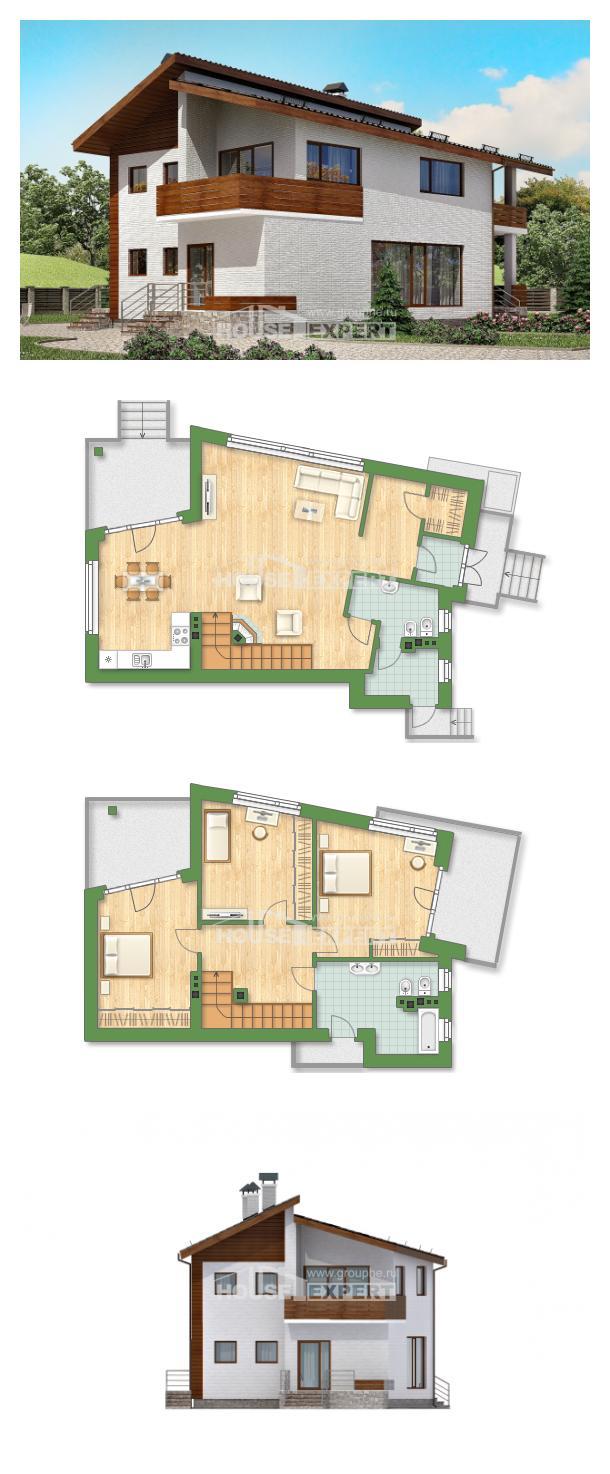 Проект дома 180-009-П | House Expert