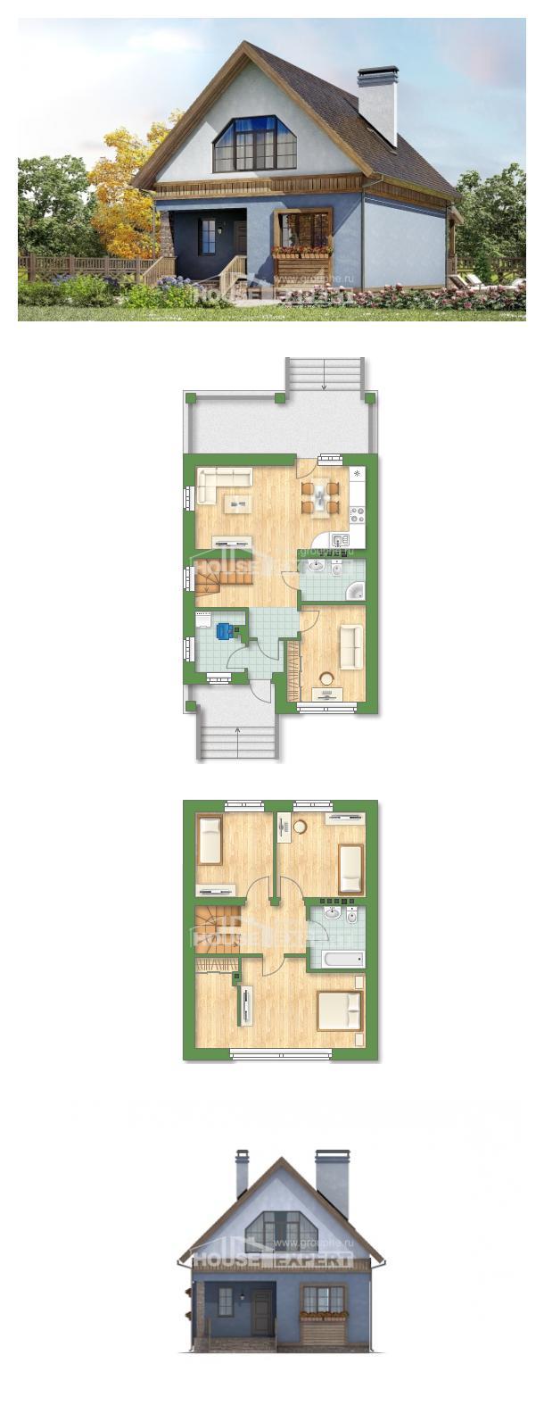 Проект дома 130-003-Л | House Expert