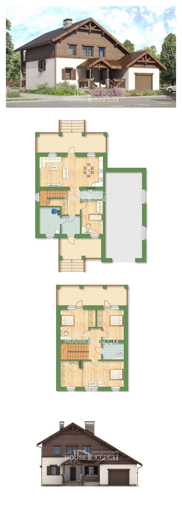 Проект дома 200-003-П   House Expert