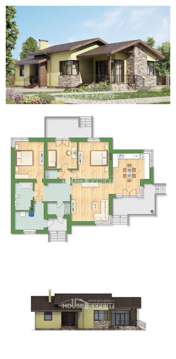 Проект дома 130-007-Л | House Expert